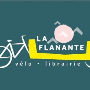 LA FLÂNANTE , Vélo-librairie